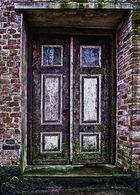 Durch diese Tür ....