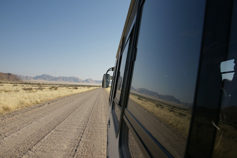 Durch Namibia mit dem Bus