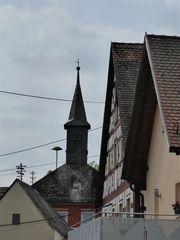 Durchblick auf den Rathausturm...