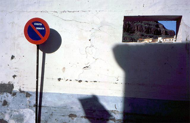 Durchblick auf Gomera