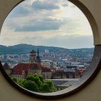 Durchblick auf Stuttgart