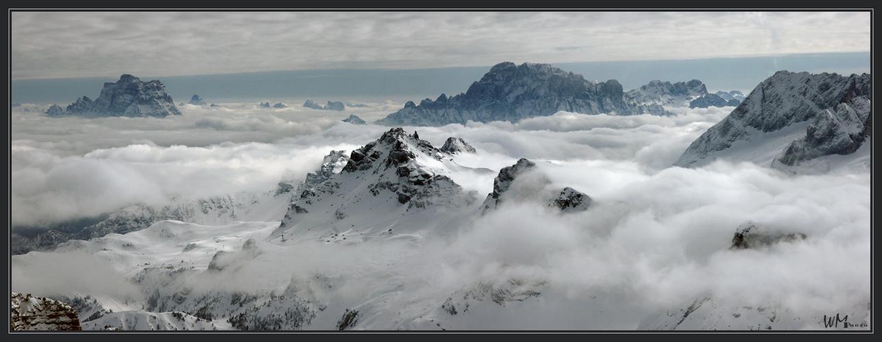 Durchblick - Dolomiten