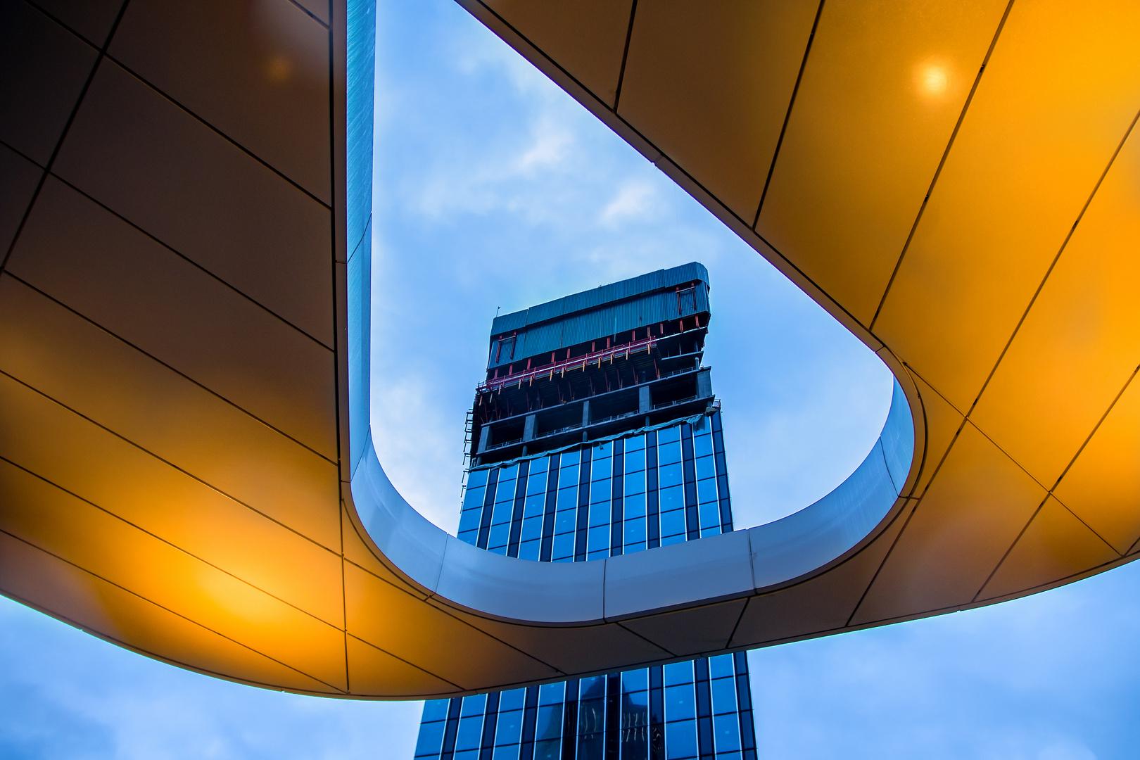 Durchblick in Frankfurt