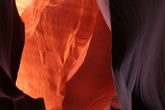Durchblick in Lower Antilope Canyon ca-11-54-col