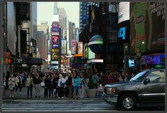 Durchblick nach Times Square