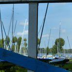 Durchblick zum Yachthafen