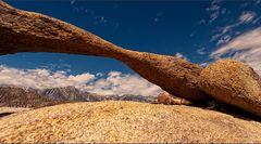 durchblick zur sierra nevada