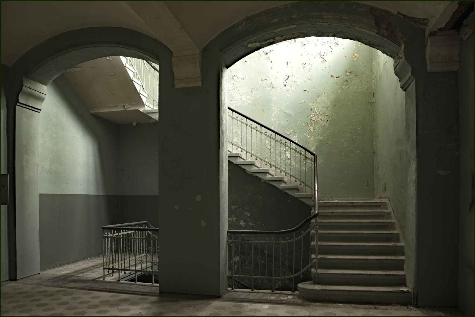 Durchblick zur Treppe