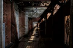 Durchgang durch den Möllerbunker