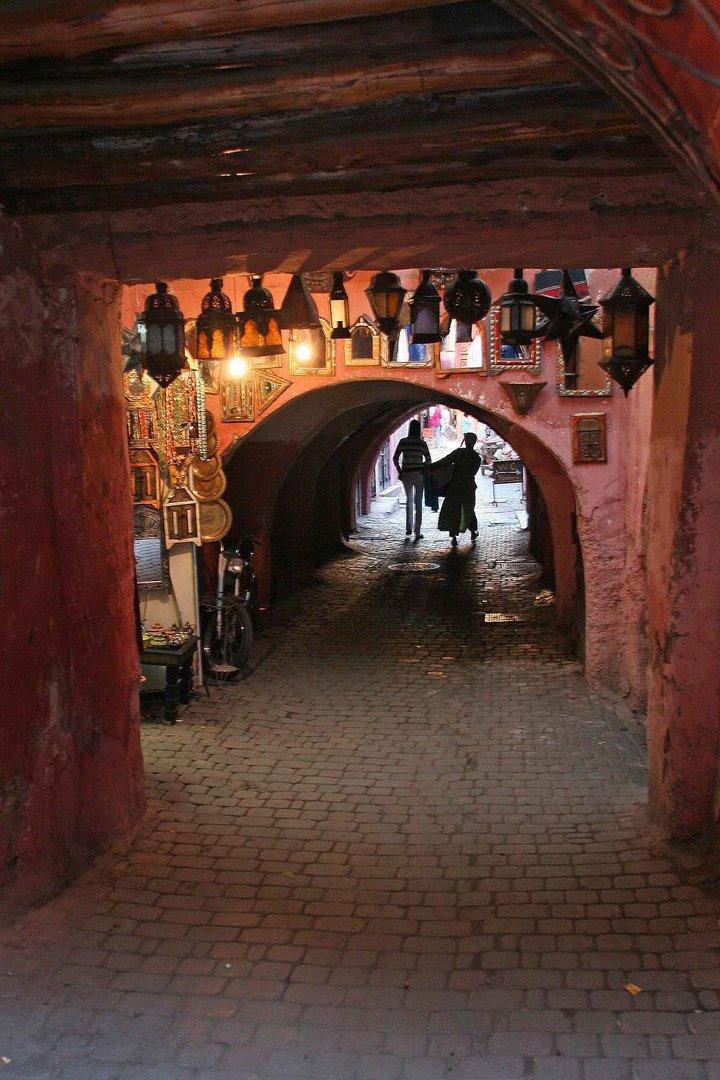 Durchgang in der Medina..
