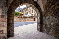 Durchgang zum Stadtschloss Fulda