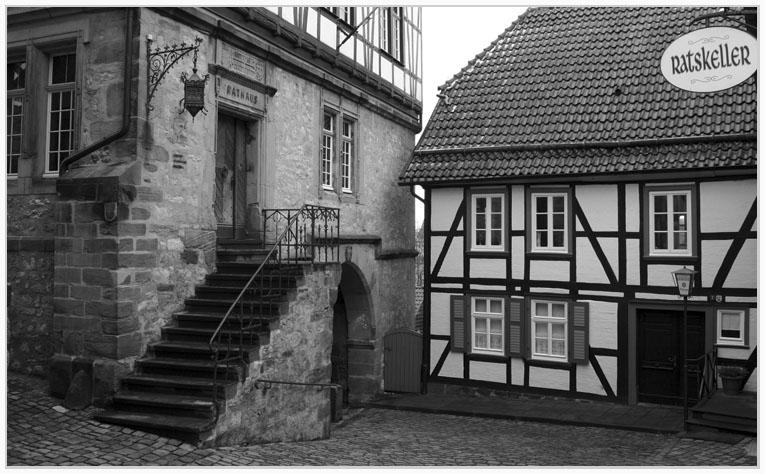Durchgang zur Altstadt in Warburg