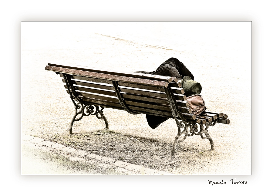 Durmiendo en la calle