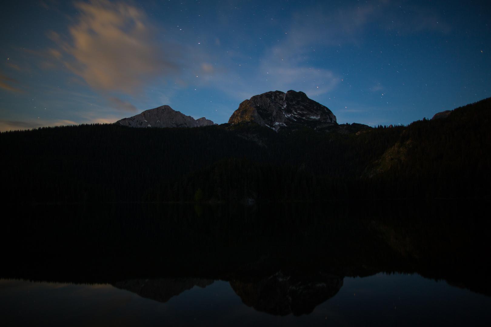 Durmitor 2: Der Schwarze See bei Nacht