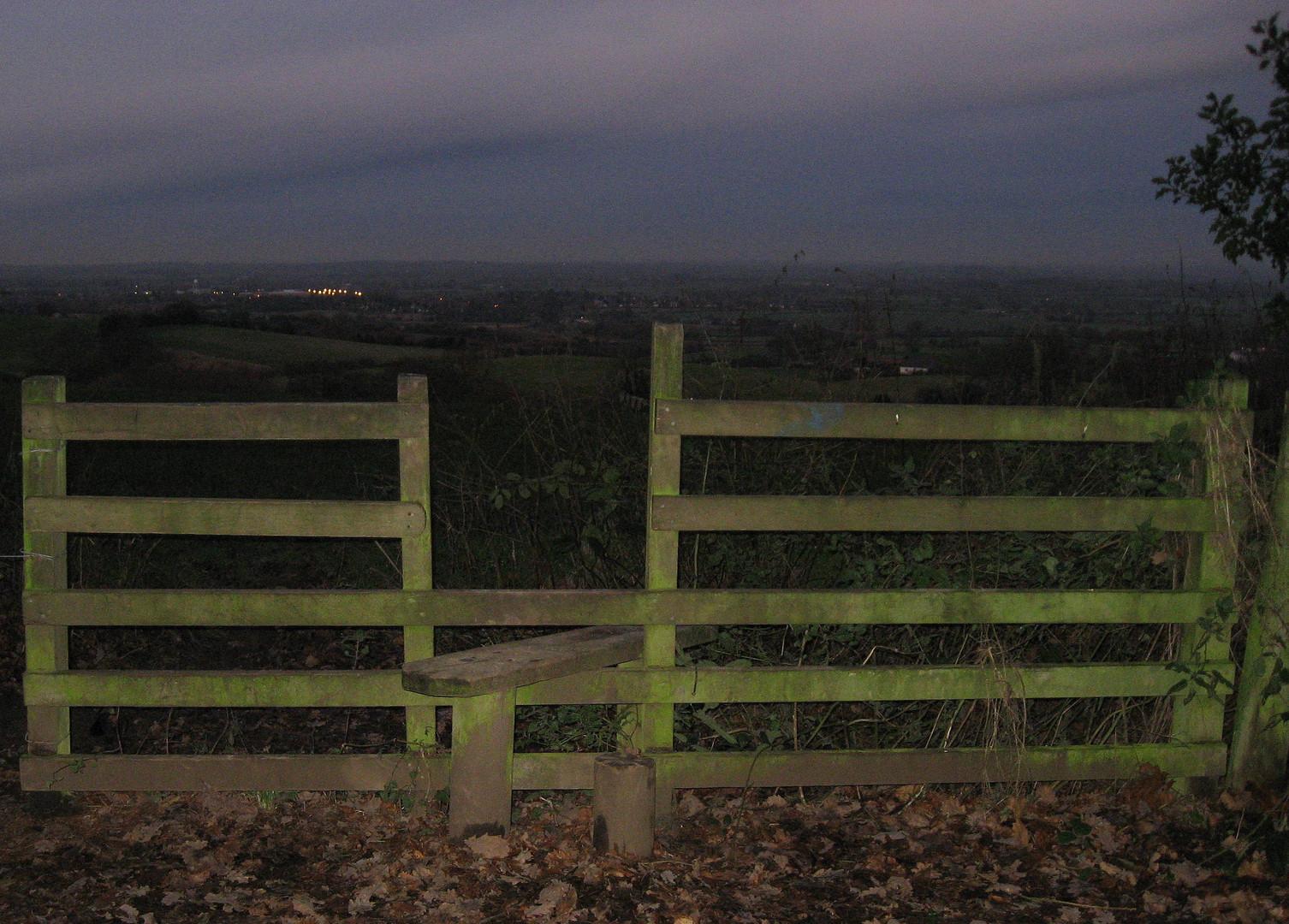 Dusk, a gateway to home