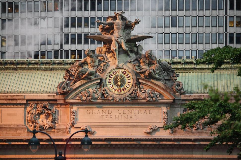 Dusk at Grand Central Station