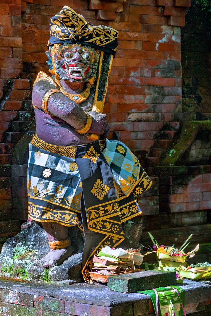 Dvarapala at the temple entrance