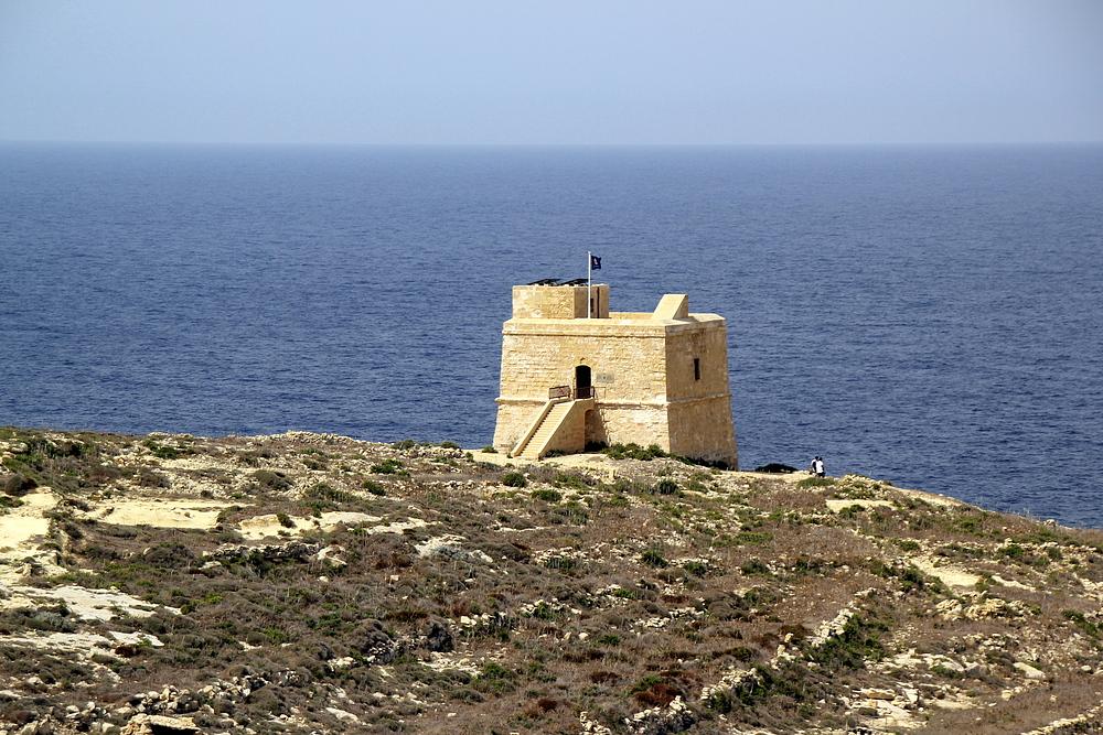 Dwejra Tower auf Gozo