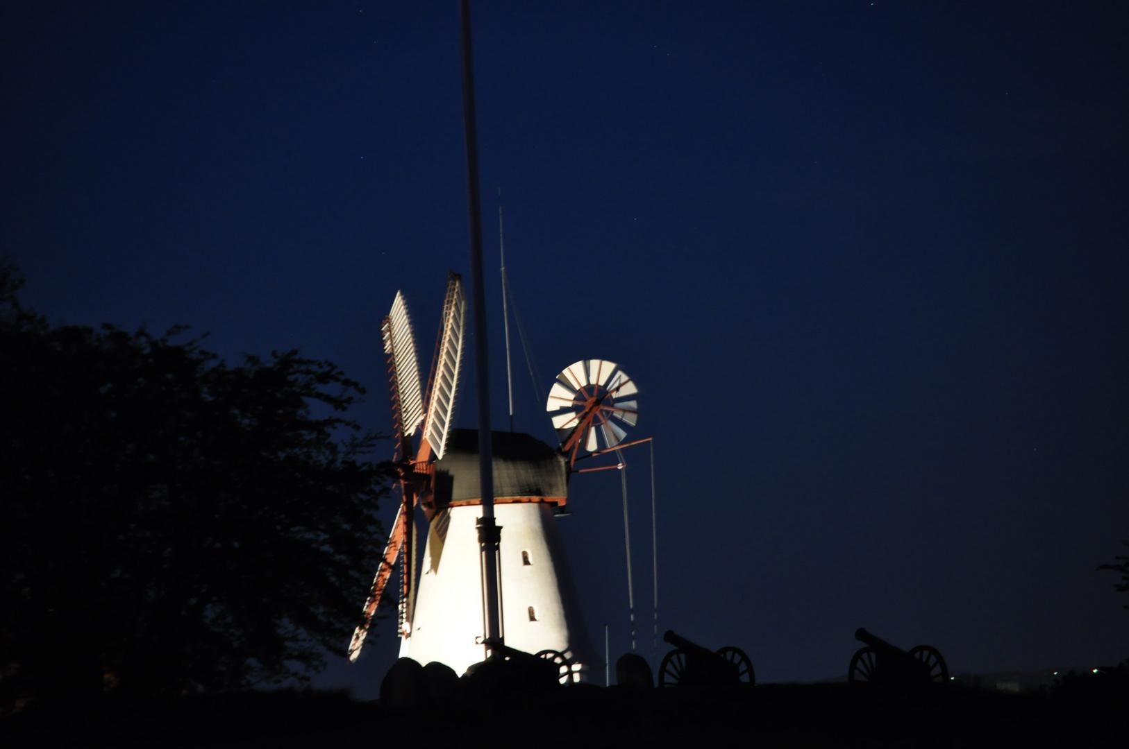 Dybbøl Mølle by Night - Danmark