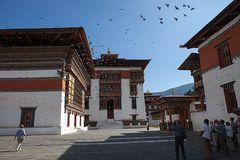 Dzong in Timpu