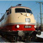 E 03 001 in München Ost