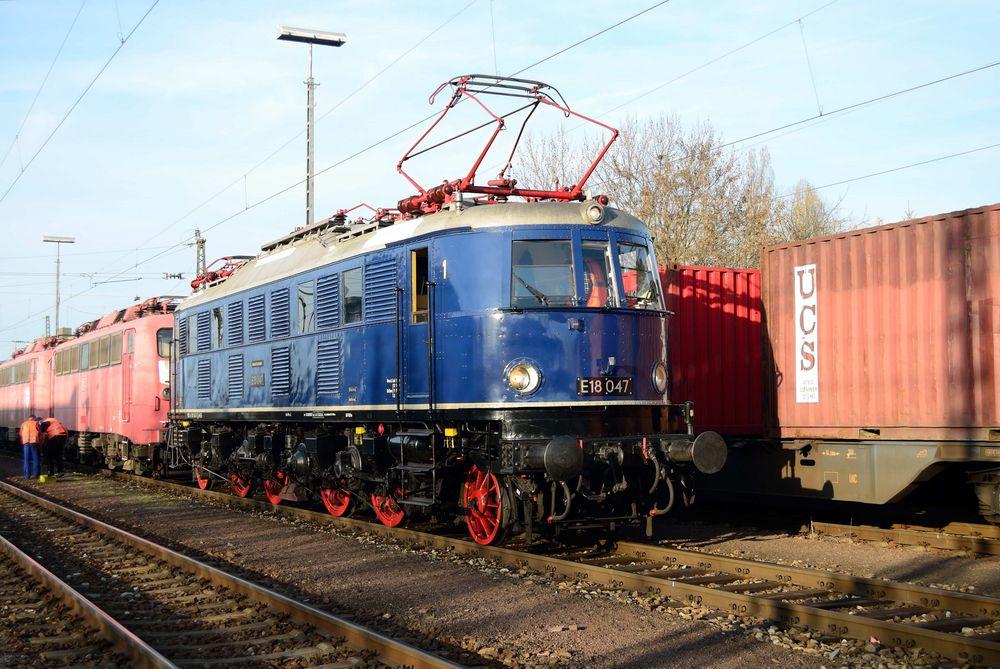 E 18 047 in Kornwestheim
