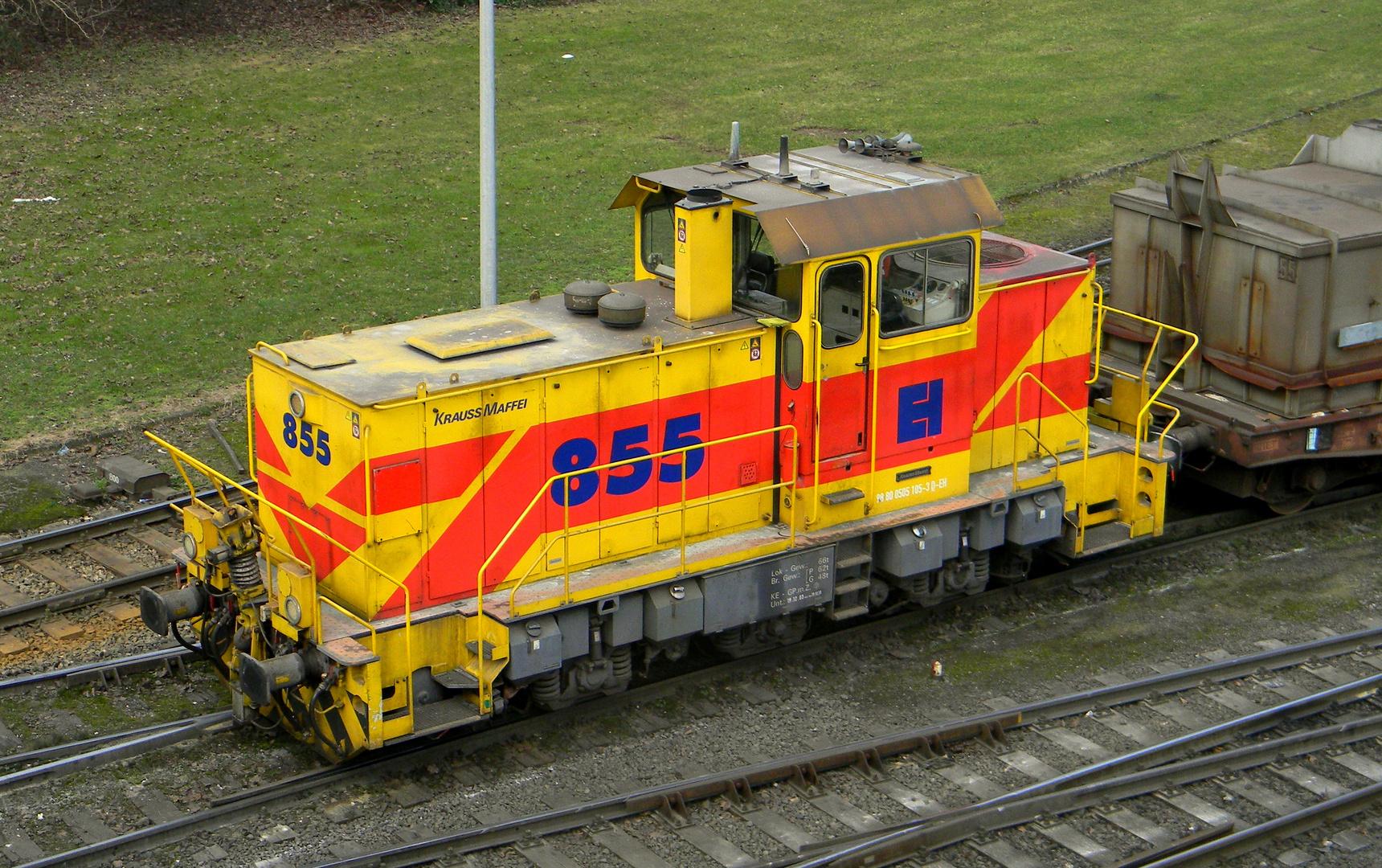 E + H Lok  855  ( HKM )