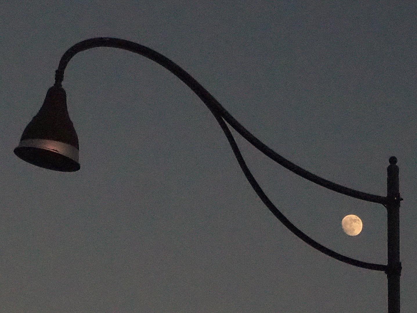 ........ e la luna giocò