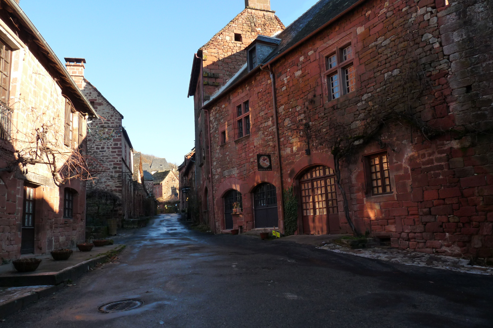E n visite à Collonges la Rouge
