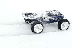 E-Revo auch im Schnee hohes Tempo