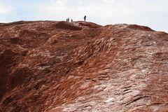 E12 Aufstieg Ayers Rock