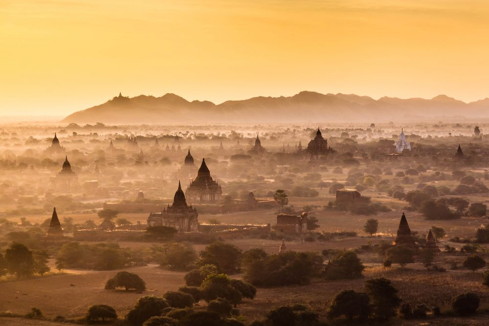 Myanmar - The Land of a Million Pagodas von Wolfgang Ende