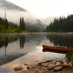 Early morning at Six Mile Lakes