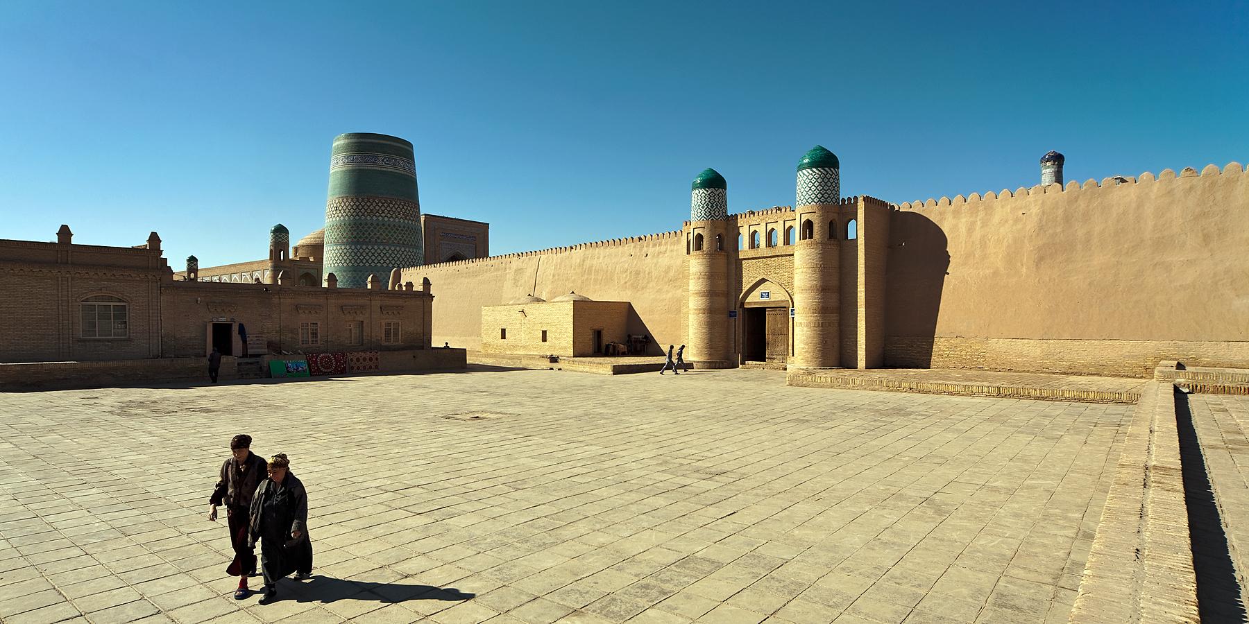early morning in Khiva