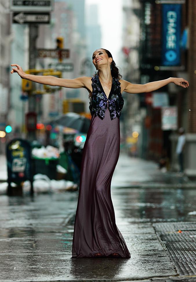 Early rain on Broadway