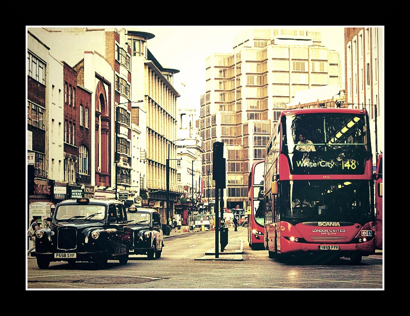 Early summer in London