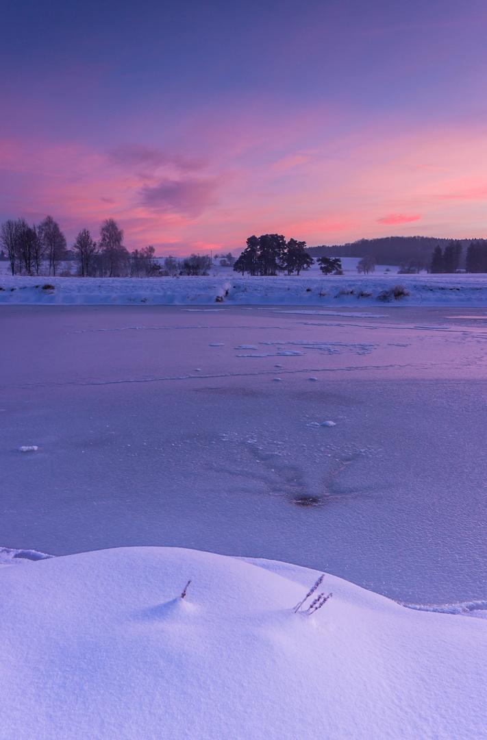 ... early winter light
