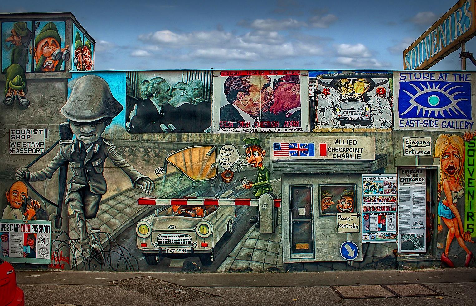 East Side Gallery | The Wall | Berlin Germany