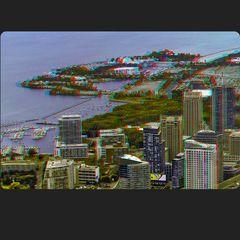 East & West Island 3-D