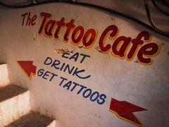 Eat, drink and get tattoos.... :-)