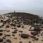 Ebbe am Strand von Borkum 2