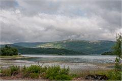 Ebbe im Fjord