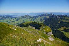 Ebenalp, Hoher Kasten und Rheintal