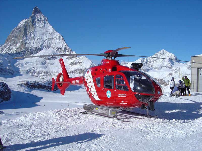 EC 135 - Air Zermatt Foto & Bild | luftfahrt, hubschrauber