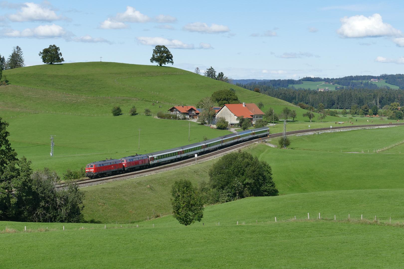 EC 194 bei Röthenbach