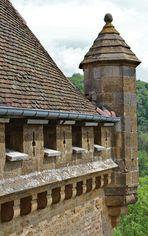Echauguette au château