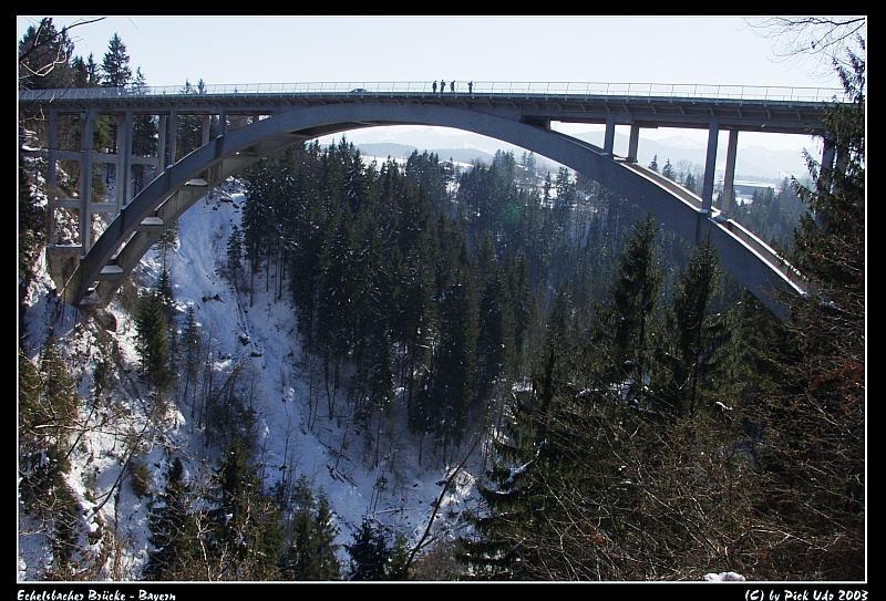 Echelsbacher Brücke über die Ammerschlucht