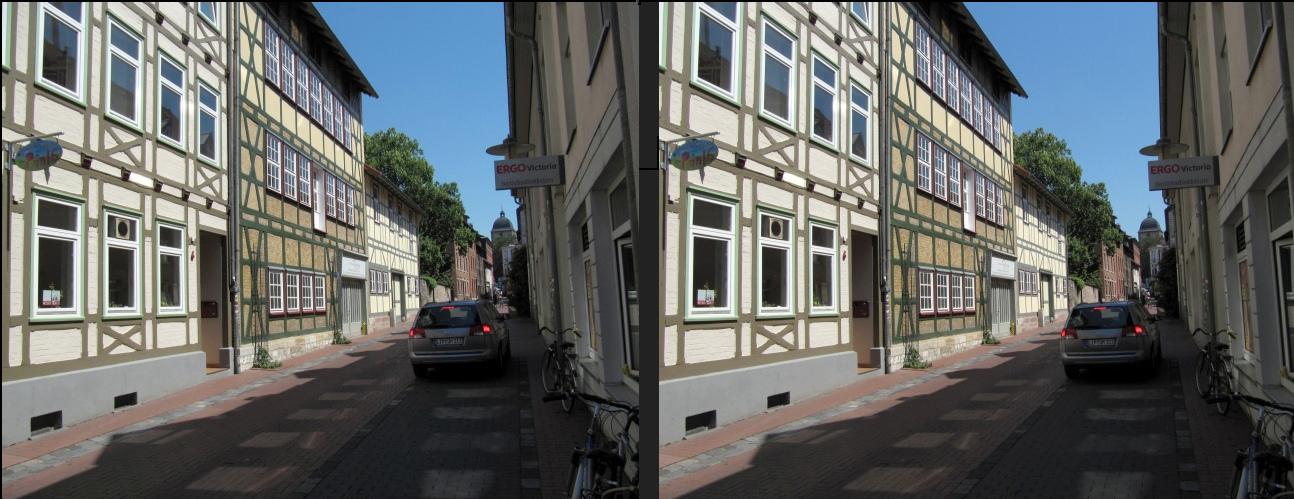 Echte Scheinfenster