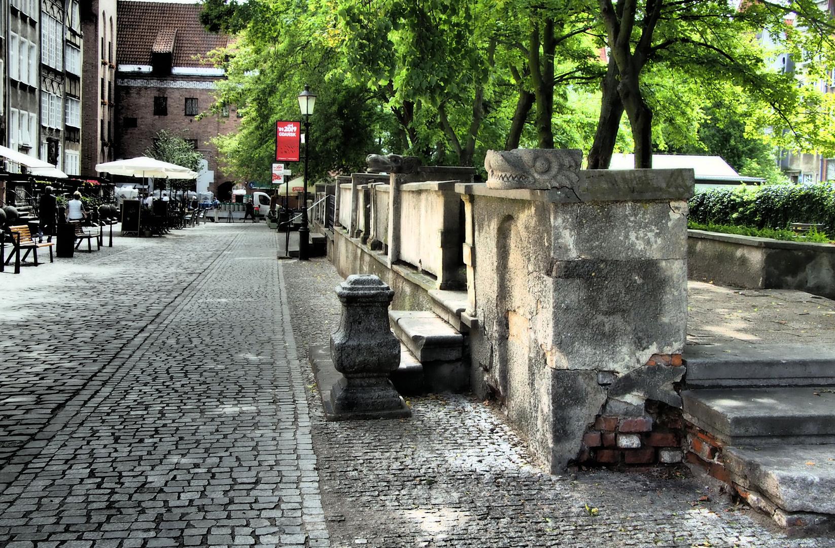Ecken und Winkel in Danzig