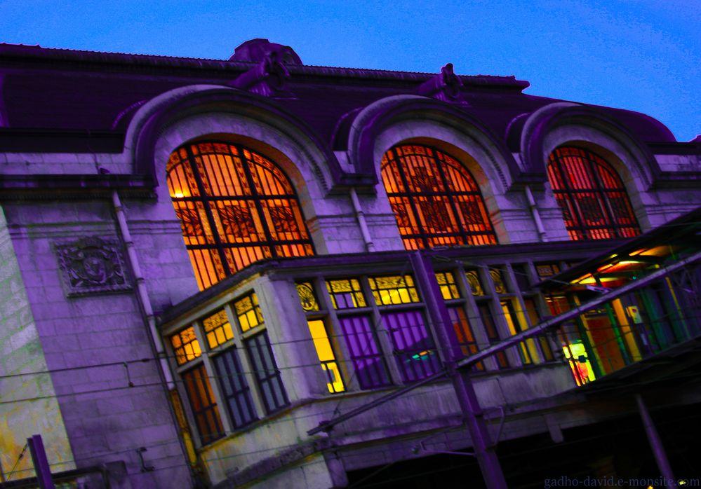 éclairage gare de Limoges
